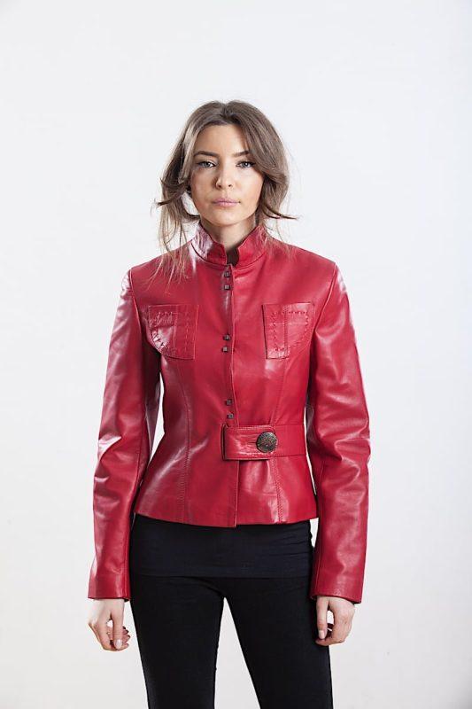 Jacheta din piele naturala de ovine - SP 117