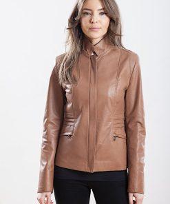 Jacheta din piele naturala de ovine - SP 145
