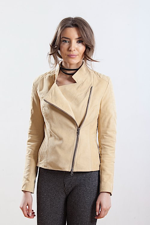 Jacheta din piele naturala de ovine - SP 157