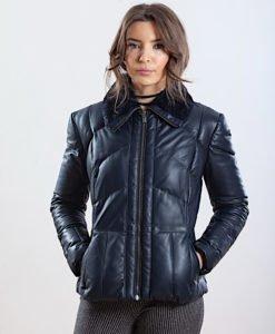 Jacheta din piele naturala de ovine - PIUMINO 03