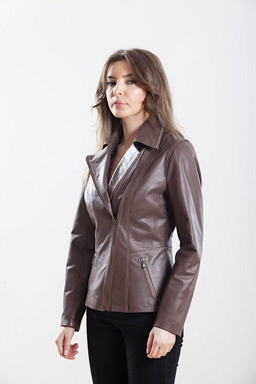 Jacheta din piele naturala de ovine - SP 106