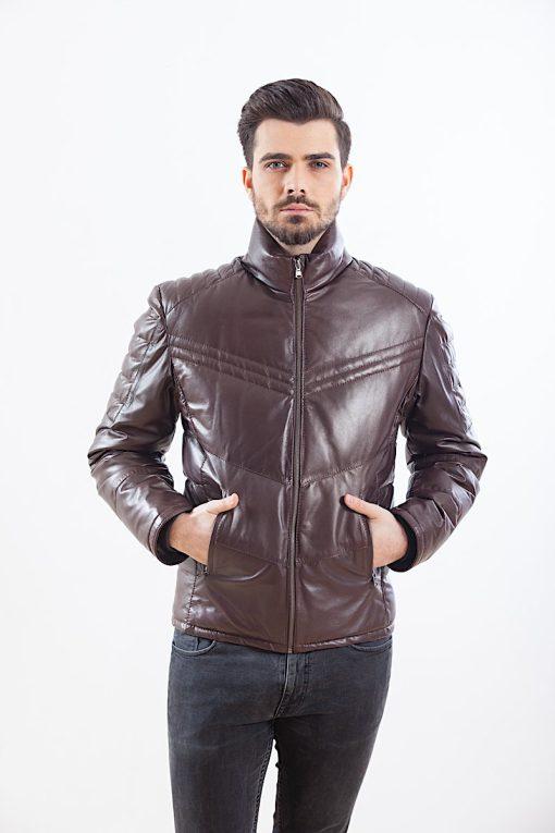 Jacheta din piele de ovine - PIUMINO 02