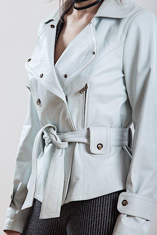 Jacheta din piele naturala de ovine - SP 88