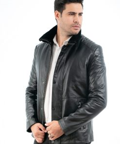 jacheta din piele naturala