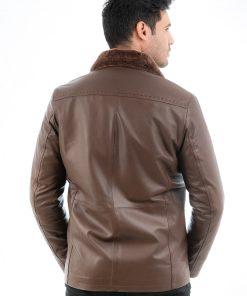 Jacheta din piele naturala de ovine