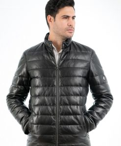Jacheta din piele foarte fina de ovine - Piumina MC 1