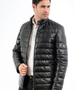 Jacheta din piele foarte fina de ovine