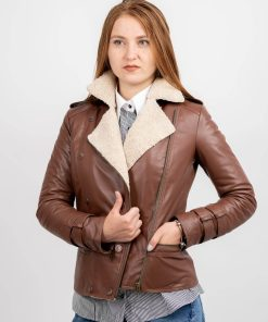 Jacheta din piele de ovine - SP 177 - B