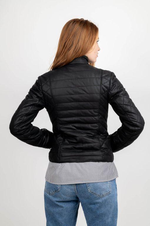 Jacheta matlasata din piele fina de ovine - SP 139